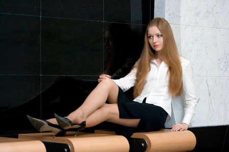 Businesswoman having a rest Stock Photo - 1566811