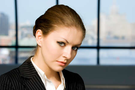 Portrait young businesswoman Stock Photo - 1566816