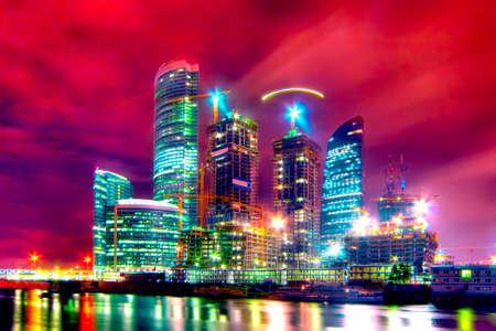 """Costruzione di un nuovo e moderno centro business """"Moscow City"""" a Mosca (Russia)"""