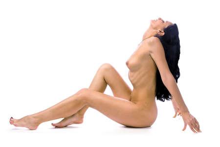La bella giovane donna nuda Archivio Fotografico