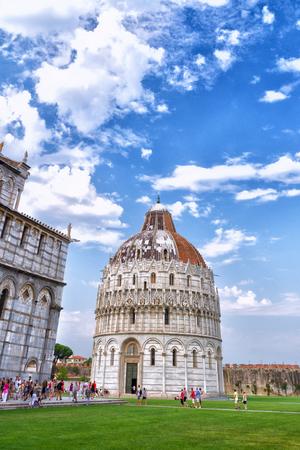 San Giovanni Baptistery, Pisa, Italy