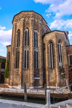 Church of Santa Maria Gloriosa dei Frari in Venice. Italy