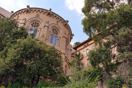 Monastery of Santa Maria de Montserrat facade.