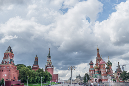 Red square in Moscow. Russia 版權商用圖片