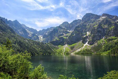 mountain lake in Tatras, Poland, Europe Stockfoto