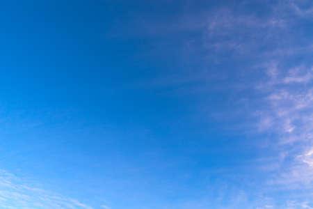 daytime blue sky with white clouds for background Zdjęcie Seryjne