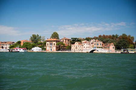 one of the bridges in the Venetian Lagoon