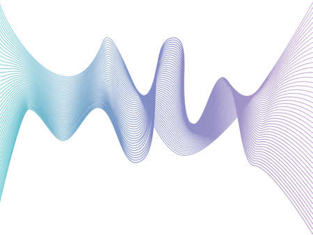 abstract smooth gradient lines. website design abstraction