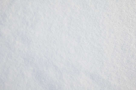 background from snow. white snow background close-up