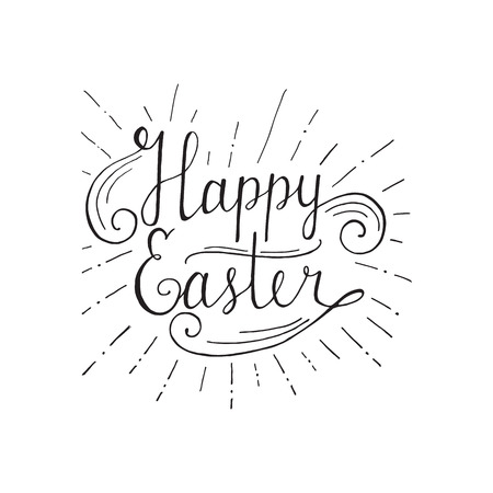 Hand written easter phrases eeting card text templates with hand written easter phrases eeting card text templates with easter eggs isolated on white background m4hsunfo