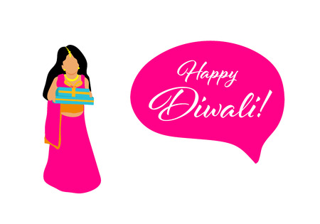 Creative Diwali Festival Template Design. Happy Diwali. Traditional Indian Festival