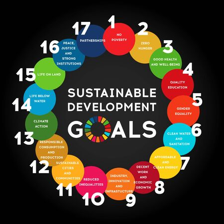 Sustainable Development Global Goals. Corporate social responsibility.