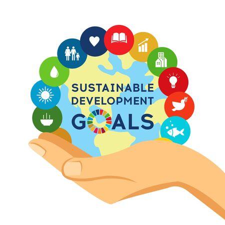 Globale Ziele für nachhaltige Entwicklung. Soziale Verantwortung des Unternehmens.