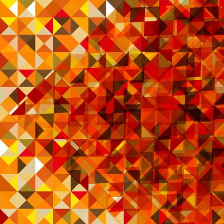 Abstract multicolor triangle geometrical background, Vector Illustration Ilustração