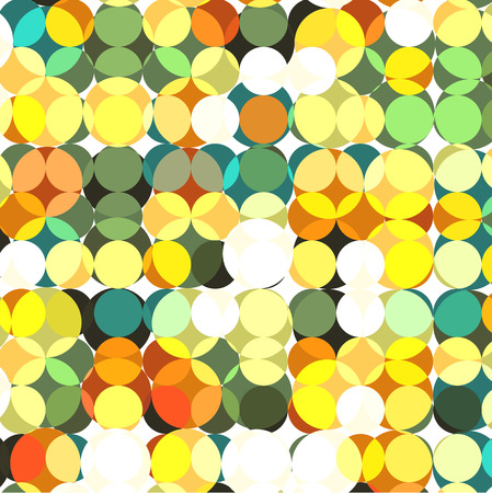 Confetti. Multicolor circles illustration. Ilustração