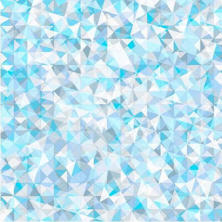 Abstract blue triangle geometrical , Illustration Ilustração