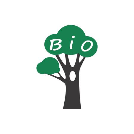 Icon of tree Ilustração