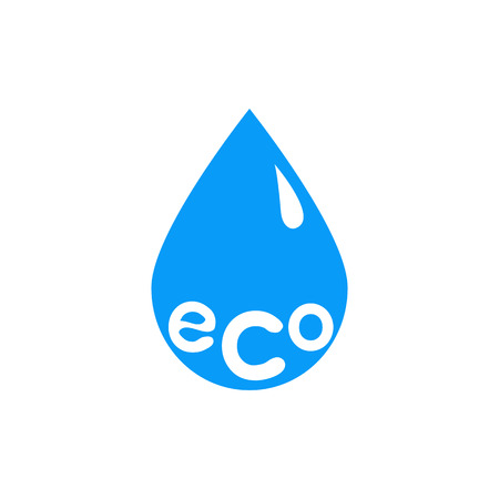 Drop of pure water icon