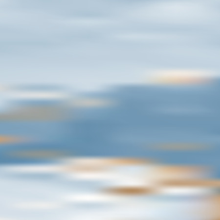Gradient background with blue cloudy sky in the evening.  Beautiful copyspace. Vector illustration. Eps10 Ilustração