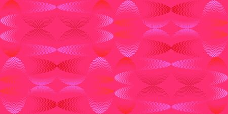 Abstract seamless pattern, halftone effect, that make up wavy futuristic lines. Vector illustration for website design, textiles, wallpapers, postcards, poster. Illustration