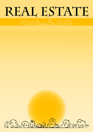 Brochure cover - Real Estate company Stock Vector - 4388821