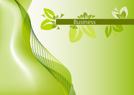 Brochure cover - Business card - Company identity Vector
