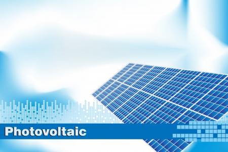 energia solar: Energ�a solar, la energ�a renovable. Cubrir folleto o Tarjeta de visita