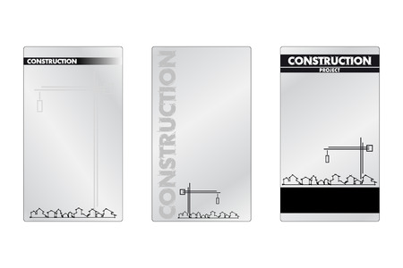 Business card for rconstruction business - Labels useful Stock Vector - 5070722