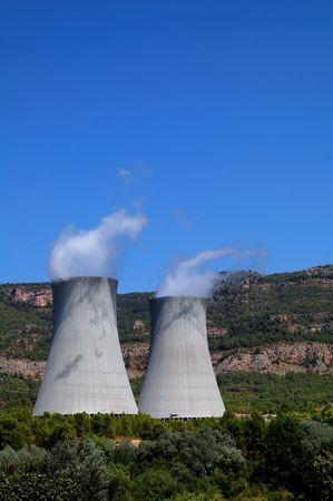 Nuclear plant in Spain - Cofrentes photo