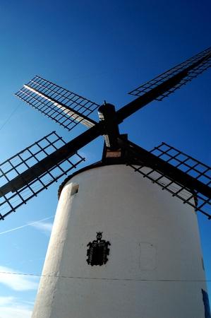 don quixote: Spain, windmills in Mota del Cuervo, the giants of Quixote novel
