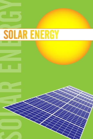 Solar power renewable energy brochure cover or business card green energy brochure cover or business card vector reheart Image collections
