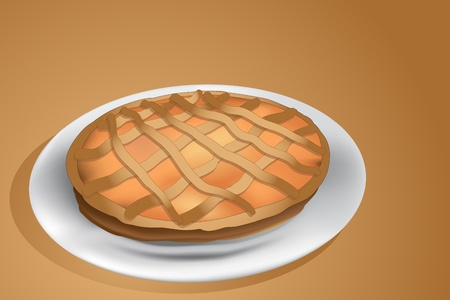 tarts: Jam tart, italian homemade crostata