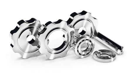 Industrie-Konzept Bild mit Zahnrädern und Kugellagern Standard-Bild - 14088538