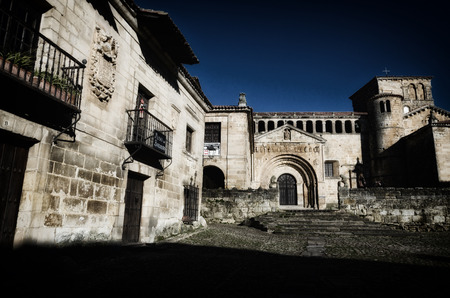 Santilla del Mar, historic town situated in Cantabria, Spain