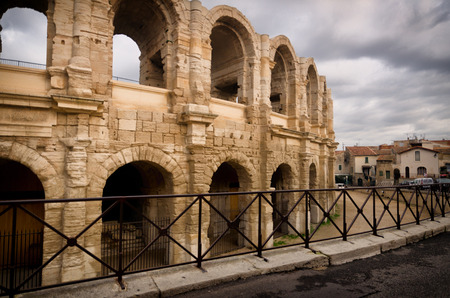 arles: Arles, ancient old town in south of France