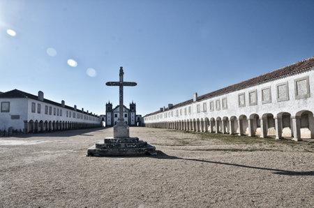destination scenics: Religious symbol, Portugal, Cabo Espichel Editorial