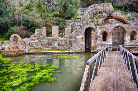 albania: Albania tourist destination the archaeological site of Butrint