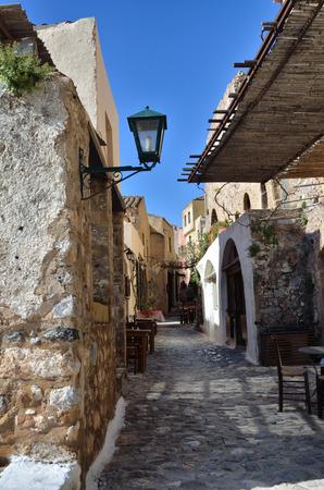 laconia: Greek destination, medieval city of Monemvasia Stock Photo
