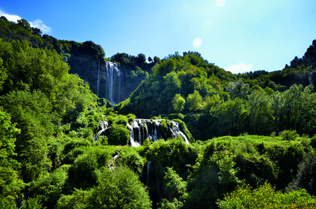 terni: Italian destination, Marmores falls, tallest man-made waterfall in Europe
