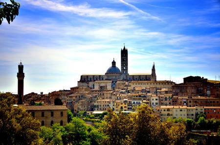 siena: Touristic destination in Tuscany, Siena