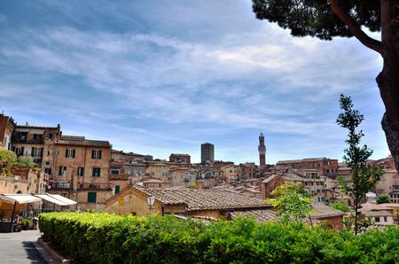 destination: Touristic destination in Tuscany, Siena