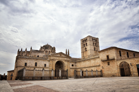 zamora: Spanish destination, old town of Zamora Editorial