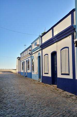 formosa: Portuguese destination in Algarve, Cacela Velha, where starts the Ria Formosa lagoon Stock Photo
