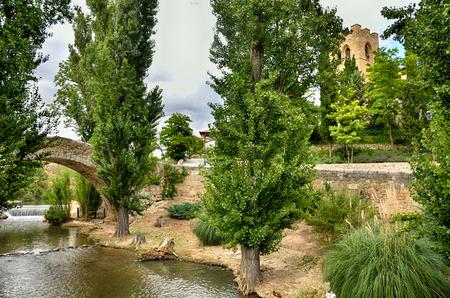 patrimony: Aranda de Duero is the capital of the Ribera del Duero wine region. Medieval bridge