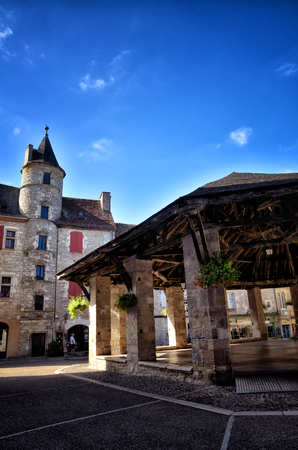Martel, a small and lovely medieval town in the famous and touristic area of ??the Dordogne river.