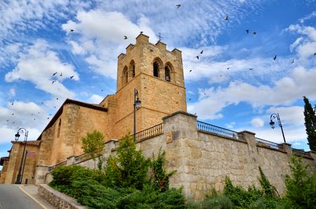 Aranda de Duero is the capital of the Ribera del Duero wine region. Church of Saint Jonh, San Juan