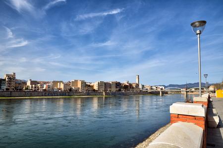 Tortosa, medieval town on Ebro river, tourist destination in Catalonia