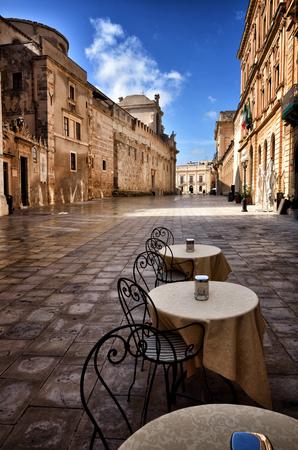 ortigia: Old downtown of Syracuse, Sicily, on Ortigia island