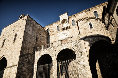 Anagni, little medieval town in the Lazio region, Italy, Called the city of the Popes