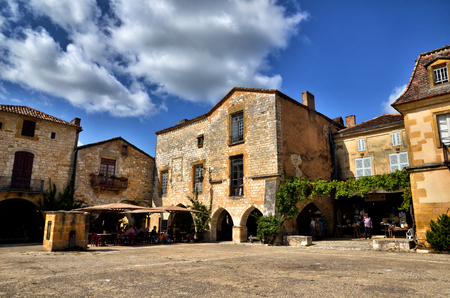 Monpazier is one of the most beautiful village in France and the most famous bastide Editorial